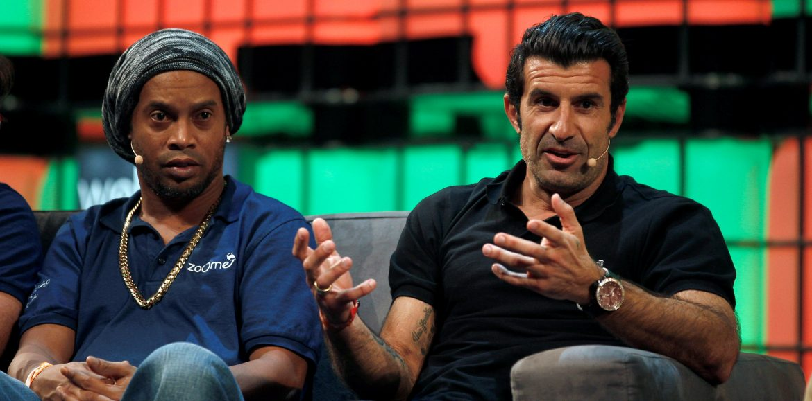 Luis Figo's Dream Football launch app to give young footballers a chance