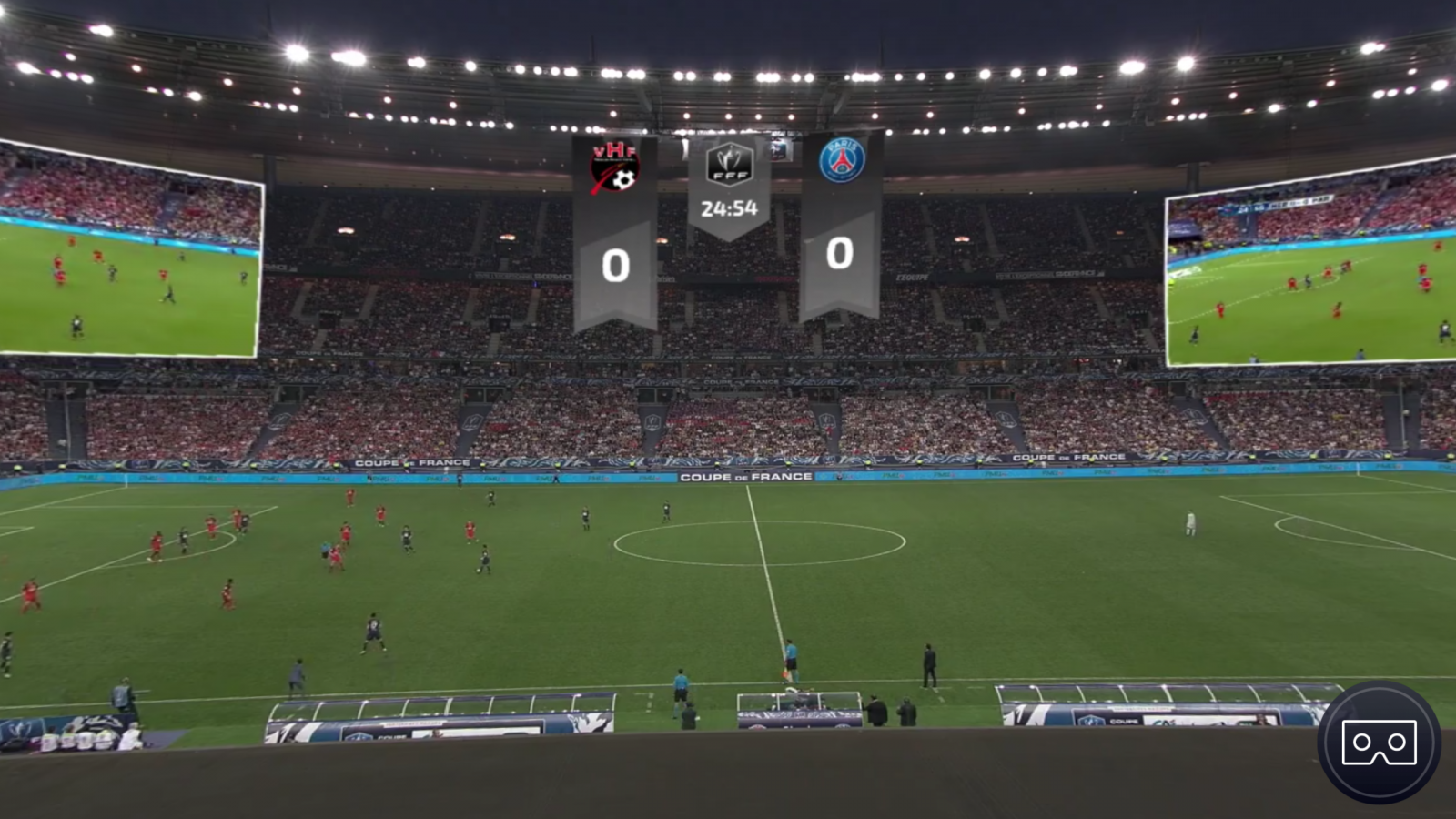 France Télévisions streams French Cup final live in 360